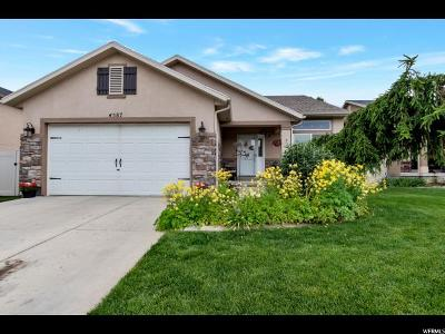 Herriman Single Family Home For Sale: 4587 W Marlin Ct S
