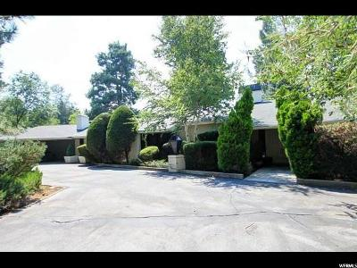 Holladay Single Family Home For Sale: 5676 Cottonwood Ln