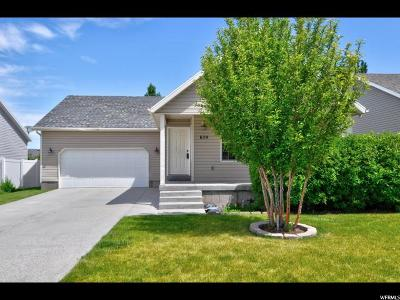 Tooele Single Family Home For Sale: 654 W 850 N