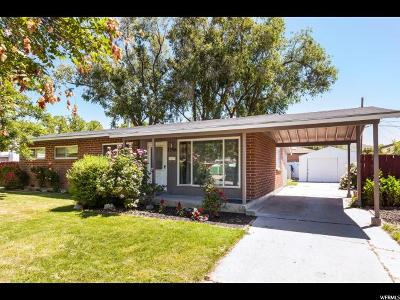 Salt Lake City Single Family Home For Sale: 1356 N 1500 W