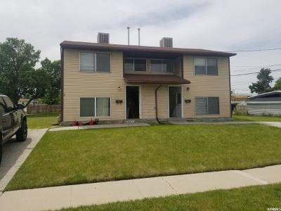Salt Lake City Multi Family Home Under Contract: 5384 S 5200 W