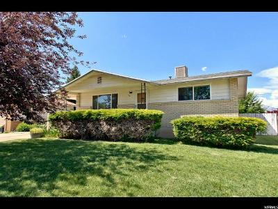 Riverdale Single Family Home Under Contract: 766 W 4350 S