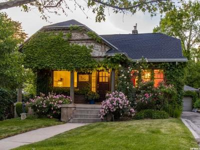 Salt Lake City Single Family Home For Sale: 1117 E Michigan Ave
