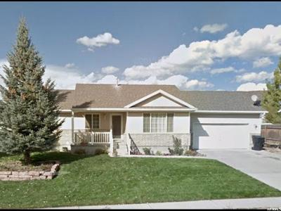 Wasatch County Single Family Home Under Contract: 1069 E 220 N