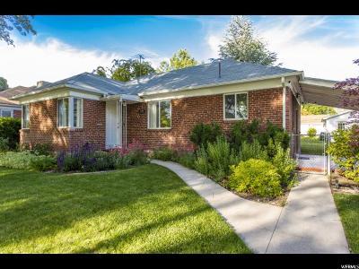 Salt Lake City Single Family Home For Sale: 1575 S 800 E