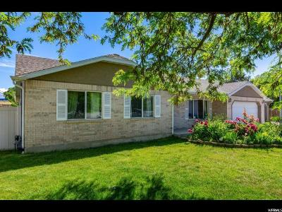 American Fork Single Family Home For Sale: 448 W 230 S