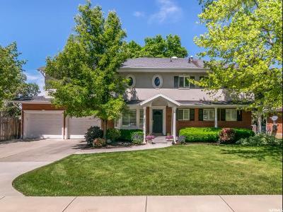 Salt Lake City Single Family Home For Sale: 3984 S 3210 E