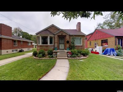 Salt Lake City Single Family Home For Sale: 1140 Denver St