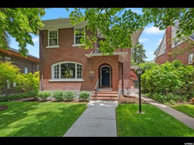 Salt Lake City Single Family Home Under Contract: 1415 E Federal Way