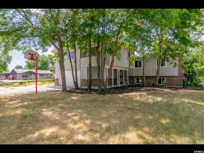 Salt Lake City Single Family Home For Sale: 5586 S Dunbarton Dr