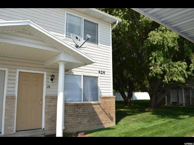 Weber County Townhouse For Sale: 424 E 2050 #1a N