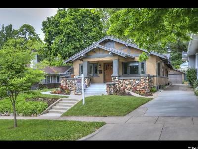 Salt Lake City Single Family Home For Sale: 1377 E Butler Ave S