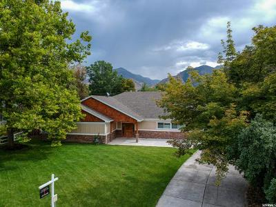 Holladay Single Family Home For Sale: 4597 S Holly Ln