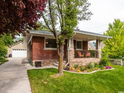 Salt Lake City Single Family Home For Sale: 1837 S 1900 E
