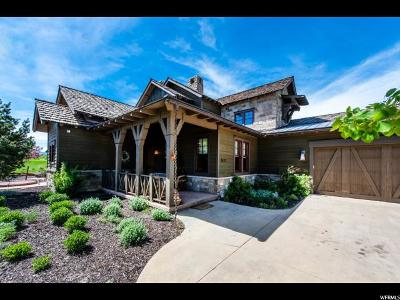 Wasatch County Single Family Home For Sale: 3122 Arrowhead Trl