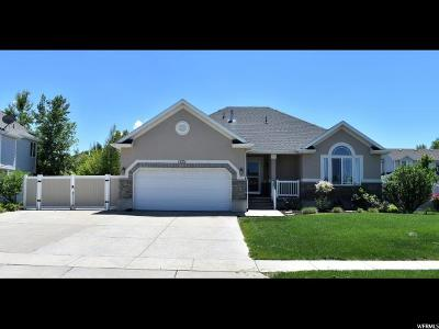 Clinton Single Family Home Under Contract: 1221 W 1235 N