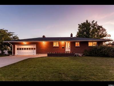 Salt Lake City Single Family Home For Sale: 3784 S 3145 E