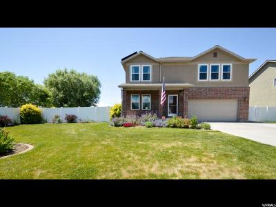 Kaysville Single Family Home Under Contract: 322 S Wellington