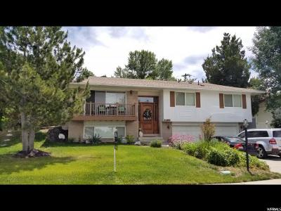 Cottonwood Heights Single Family Home For Sale: 2408 E Catalina Dr S