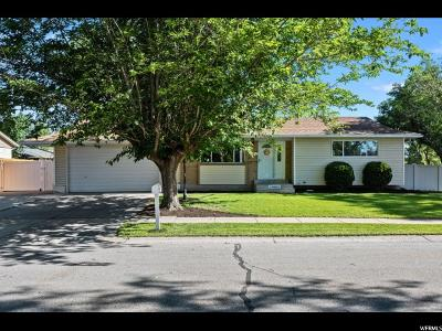 West Jordan Single Family Home For Sale: 2008 W Friar Way S