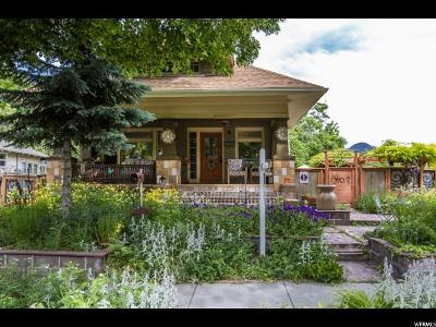 Salt Lake City Single Family Home For Sale: 1559 S 1000 E