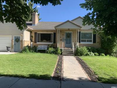 Logan Single Family Home For Sale: 332 E 600 N