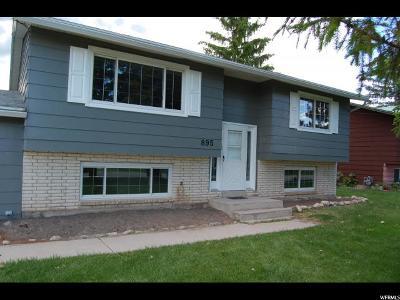 Lewiston Single Family Home Under Contract: 895 E 200 S