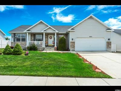West Jordan Single Family Home For Sale: 6957 S High Bluff Dr W