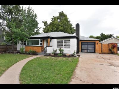 Salt Lake City Single Family Home For Sale: 1470 S 2100 E