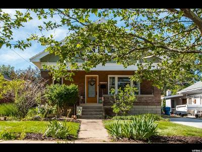 Weber County Single Family Home For Sale: 1143 E Capitol St