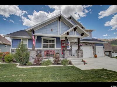 Wasatch County Single Family Home Under Contract: 585 Knollwood W