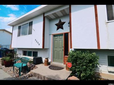 Salt Lake City Single Family Home For Sale: 5250 W Leprechaun Ln S