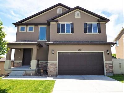West Jordan Single Family Home For Sale: 6585 Azimuth Ct