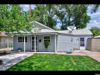 Salt Lake City Single Family Home For Sale: 1184 W 400 S