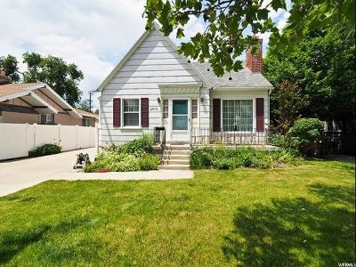 Salt Lake City Single Family Home For Sale: 2516 S Dearborn St