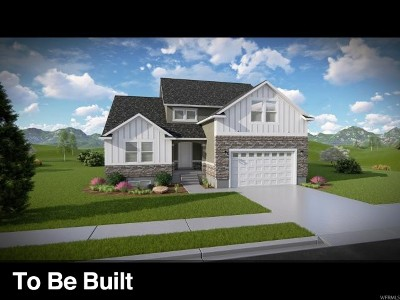 Herriman Single Family Home Under Contract: 12519 S Clipper Peak Dr #821