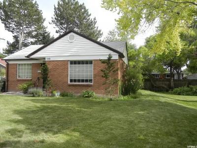 Salt Lake City Multi Family Home For Sale: 950 E Millcreek Way