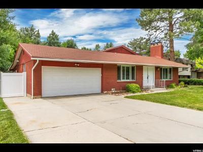 Cottonwood Heights Single Family Home Under Contract: 6780 S Olivet Dr