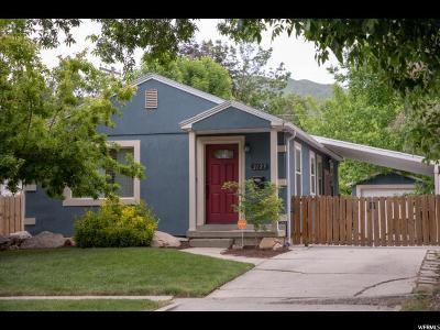 Salt Lake City Single Family Home For Sale: 2125 S Wellington St