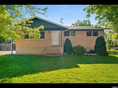 Davis County Single Family Home For Sale: 1679 N 2800 W