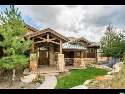 Wasatch County Single Family Home For Sale: 3584 Ridgeway Dr E