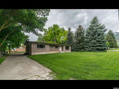 Wellsville Single Family Home For Sale: 40 E 200 S