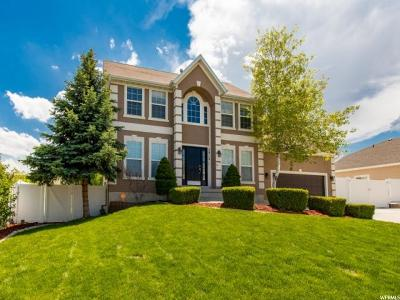 Herriman Single Family Home For Sale: 5913 W Silver Saddle Way