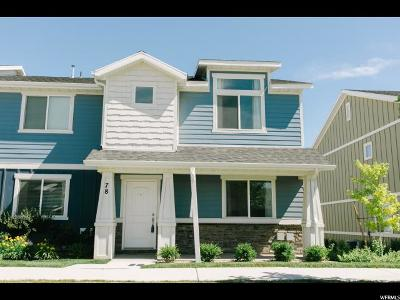 Saratoga Springs Townhouse Under Contract: 78 E Legacy Pkwy