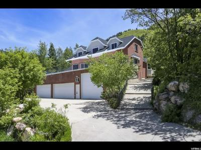 Salt Lake City Single Family Home Under Contract: 4515 S Zarahemla Dr
