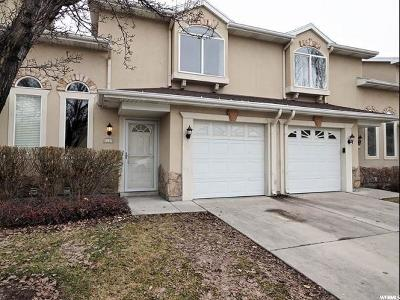 West Jordan Townhouse Under Contract: 6739 S Etruscan Way W