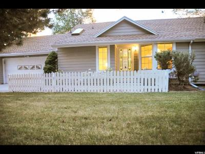 Salt Lake City Single Family Home For Sale: 4617 S Shiloh Park Ln