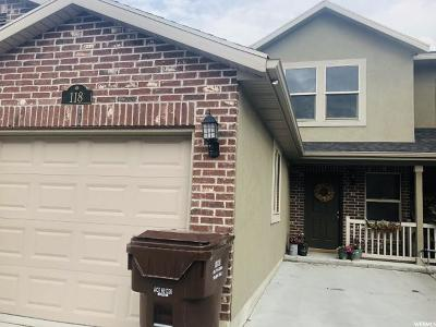 Weber County Townhouse For Sale: 118 W Arlington Way N