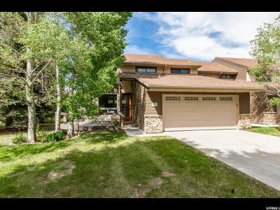 Park City Townhouse Under Contract: 4740 N Silver Meadows Dr Dr #11