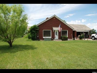 Weber County Single Family Home For Sale: 7112 W 5550 S